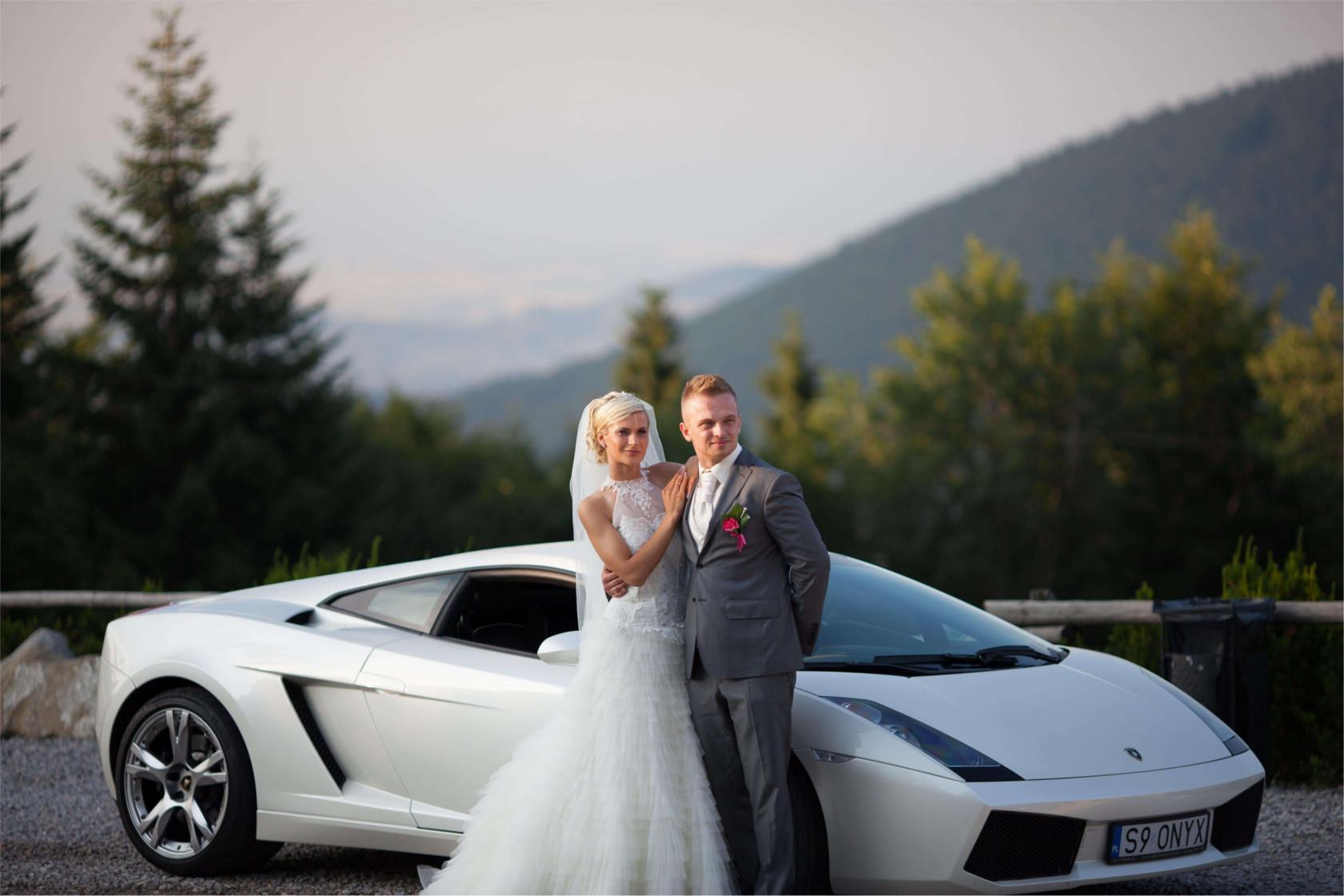 lamborghini do Ślubu | wynajmij gallardo na wesele!